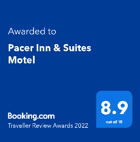Booking.com Reviews Award Pacer Inn